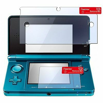 20 Pieces 2 in 1 LCD Screen Protector For Nintendo 3DS New