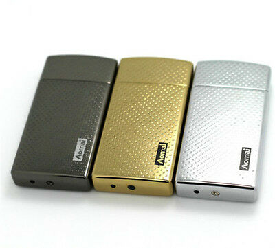 AoMai USB Rechargeable Electronic Lighter Tobacco Cigar Cigarette Lighter New