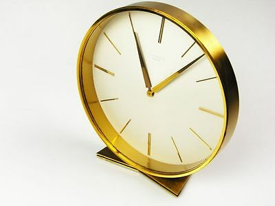 Beautiful Art Deco Design Desk Clock From Junghans Meister Germany