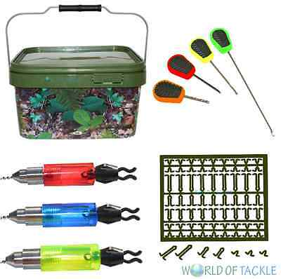 Fishing Christmas Gift Set 5l Bucket Bite Indicators Baiting Needles Hair Stops