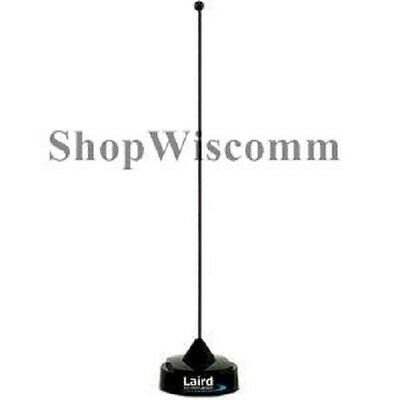 Laird QWB144  1/4 Wave BLACK Antenna 144-152 Mhz 18 inch NMO Mount **NEW**