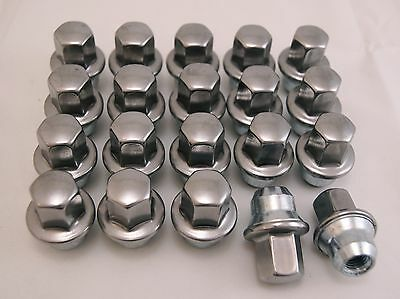 20 New Cadillac CTS DTS STS Factory OEM Polished Stainless Lug Wheel Nuts 6069
