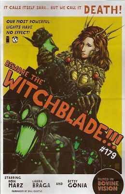 Witchblade #179. Cvr B. Ron Marz (Image Comics) Boarded. Free Uk P+P! New!