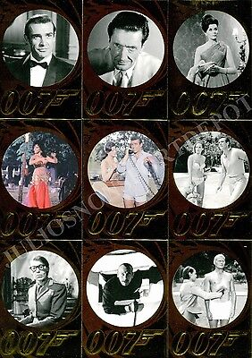James Bond 50Th Anniversary Series 2 2012 Rittenhouse Base Card Set Of 99 Movie