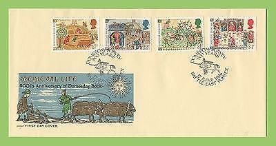 G.B. 1986 Medieval Life set on Philart First Day Cover, Battle East Sussex