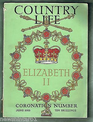 #qq. Three 1953-1954  Books On Queen Elizabeth Ii