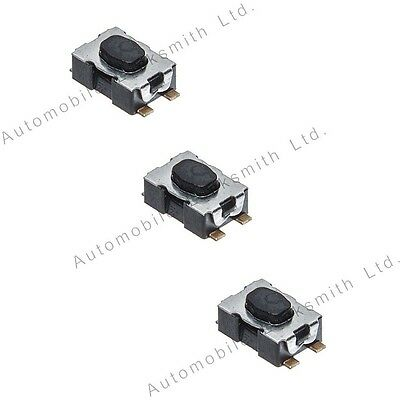 Micro switches for Citroen C1 C2 C3 C4 C5 Berlingo 3 button remote flip out key