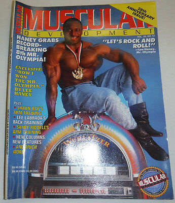 Muscular Development Magazine Lee Haney & Shawn Ray 1991 112114R