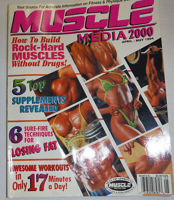 Muscle Media 2000 Magazine 6 Techniques To Lose Fat April/May 1994 112114R1