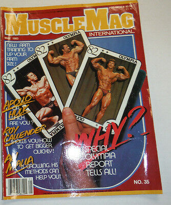 Musclemag Magazine Roy Callender & Ali Malla May 1983 112114R1