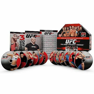 UFC Fit 12-Week Home Training Fitness Exercise Program DVD Set   FIT-02630413