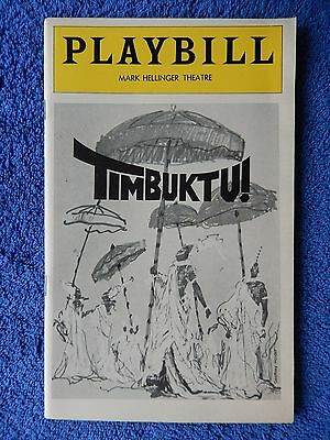 Timbuktu! - Mark Hellinger Theatre Playbill - April 1978 - Eartha Kitt - Moore
