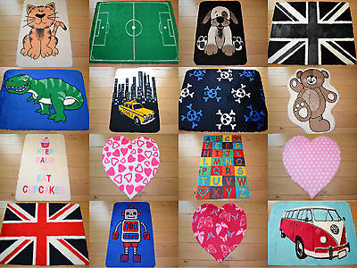 New Girls Boys Soft Fluffy Furry Childrens Kids Bedroom Bedside Floor Rugs Mats