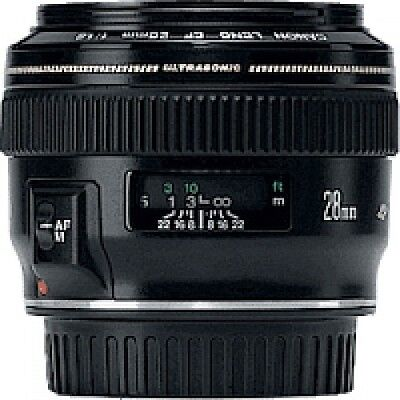 Canon Objectif Grand Angle 28 mm f/1.8 USM - Canon Objectif Grand Angle NEUF