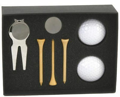 Personalised Golf Ball Pitch Divot Repair Marker Tool Engraved Christmas Gift