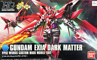 Bandai HG Build Fighters 013 GUNDAM EXIA DARK MATTER 1/144 scale kit