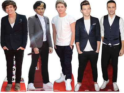 New 1D One Direction Stand Standee Lifesize Standup Cutout Cardboard