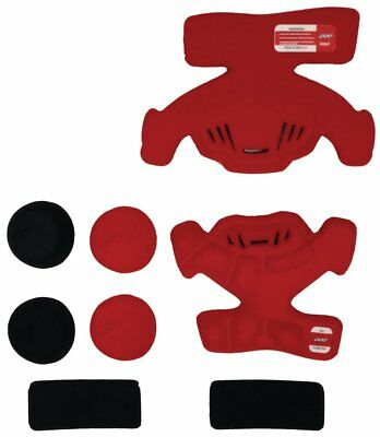 POD Replacement Pad Set for K300 Left Knee Brace Frame 8 Piece Red