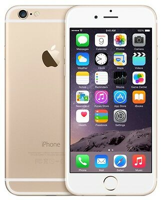 New Apple iPhone 6 16GB Factory Unlocked GSM 4G LTE Cell Phone - Gold