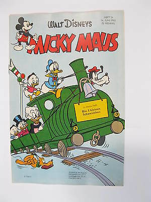 Micky Maus 1962/24  Originalheft vom 16.6.62  in Z (1 oS) 53941
