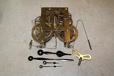 8-DAY KITCHEN / STEEPLE CLOCK MOVEMENT NEW CLOCK PARTS