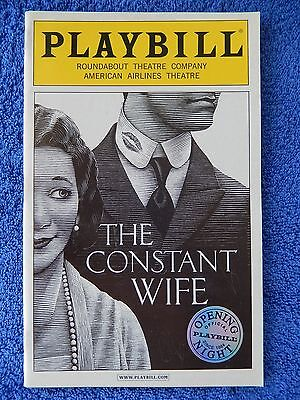 The Constant Wife - American Airlines Playbill - Opening Night - June 2005