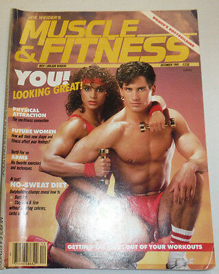 Muscle & Fitness Magazine Physical Attraction December 1985 112114R1