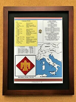 45th Infantry Division Insignia and History in World War II