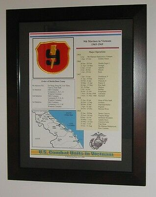 9th Marine Regiment Insignia and History in Vietnam