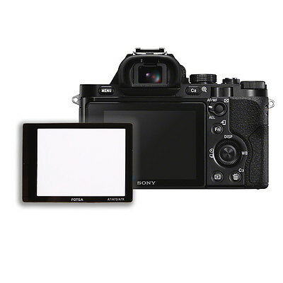 FOTGA Optical Glass LCD Screen Protector Film for Sony Alpha A7 A7R A7S Camera