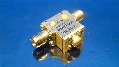 Trw Microwave Amf6631 Isolator Sma Coaxial