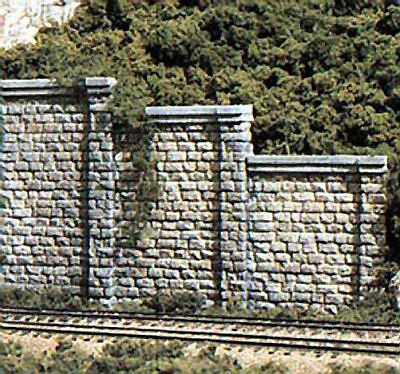 NEW Woodland Scenics Cut Stone Retaining Walls (6) C1159