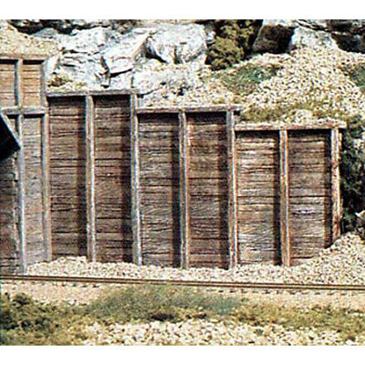 NEW Woodland Scenics Timber Wing Wall (3) HO C1260