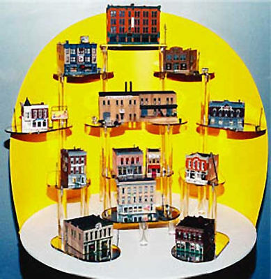 NEW Woodland Scenics Town & Factory Set N S1485