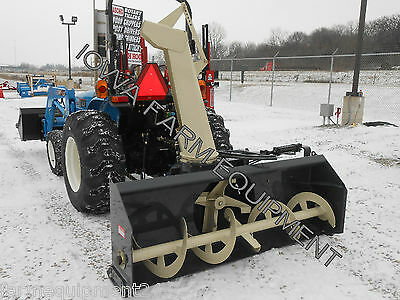"GRAY Allied YC7420-4 74"" Tractor PTO Snow Blower,4BladeFan,S-Shoes:BESTBUY&BRAND"