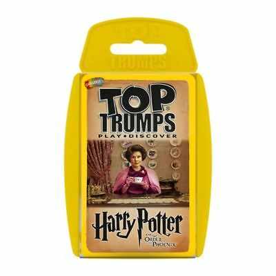 Top Trumps Harry Potter & The Order Of The Phoenix Card Game Brand New