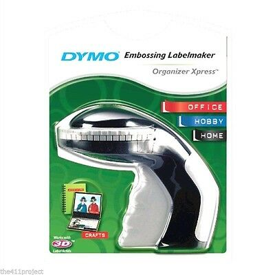 NEW Dymo Organizer Xpress Pro Personal Embosser Label Maker Label Printer #12966