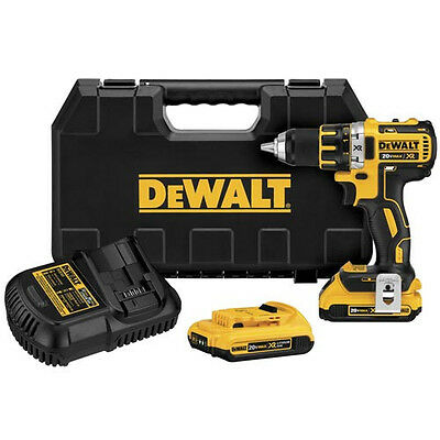 "DEWALT 20V MAX XR Li-Ion 1/2"" Brushless Compact Drill Driver Kit DCD790D2R"
