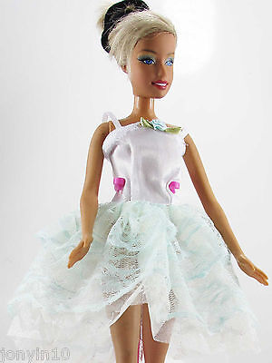 Fashion Handmade Party Clothes/Dress/Gown For Barbie Doll e42