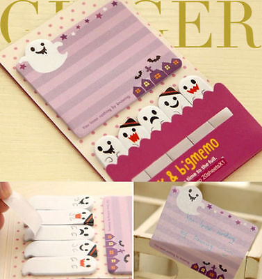 Ghost Night Sticker Post It Bookmark Marker Memo NotePad Sticky Notes  (AB05)