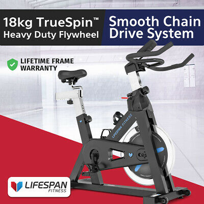 Commercial Spin Bike - Lifespan Fitness SP-460 Exercise Fitness Home Gym Bicycle