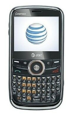 New Pantech Link P7040 Unlocked GSM QWERTY Cell Phone - Wine/Black