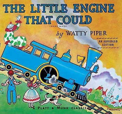 THE LITTLE ENGINE THAT COULD Watty Piper NEW children's  BOARD BOOK toddler
