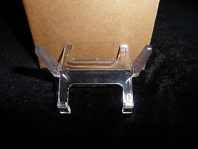 DINO: 5 Clear Acrylic Plastic Display Stands for Slabs!  Good Ones! Great Price