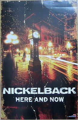 Nickelback - HERE AND NOW Promo Poster [2011] - VG++