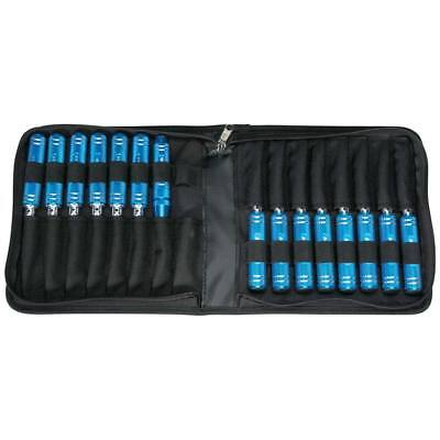 NEW Duratrax 15-Piece Ultimate Tool Set w/Pouch Metric/SAE DTXR0400