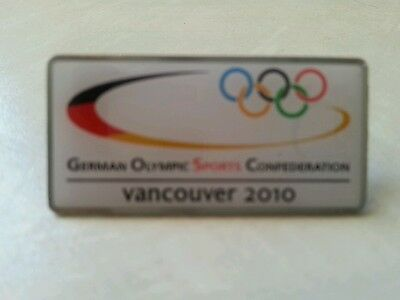 2010 Olympic Vancouver - German  NOC   Pin/ badge