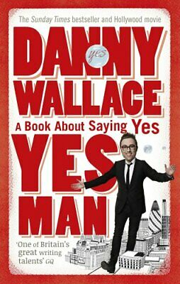 Yes Man, Wallace, Danny Paperback Book The Cheap Fast Free Post