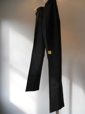 Nos Vintage 1950s Black Ivy Prep School Retro Trouser Pants Slacks Teddy Boys 14