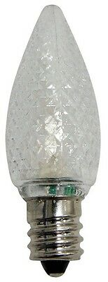 Celebrations UYRT4W15 C7 Replacement LED Bulbs, Cool White